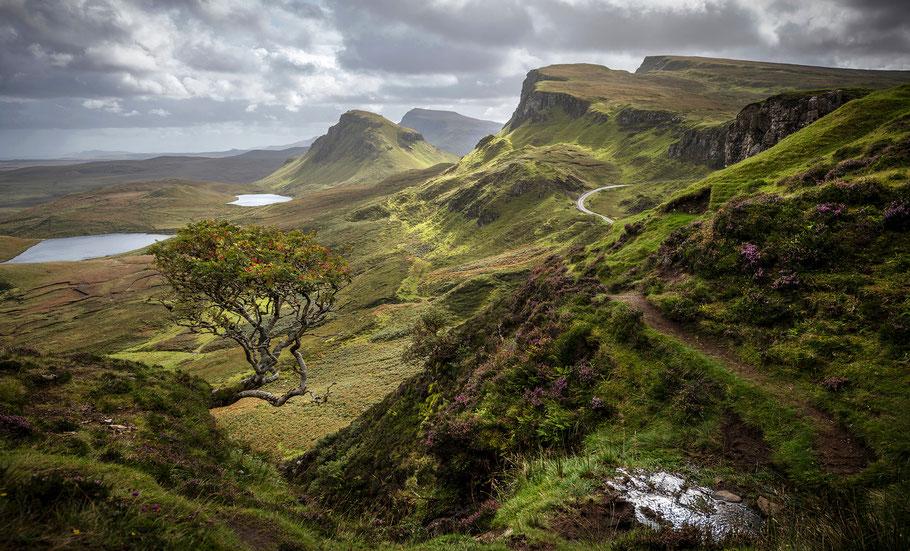 Schottland, Isle of Skye, Quiraing