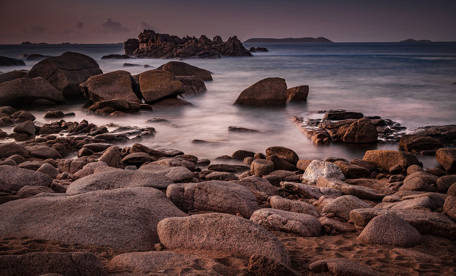Fotoreise Bretagne, Rosa Granitküste bei Ploumanac'h