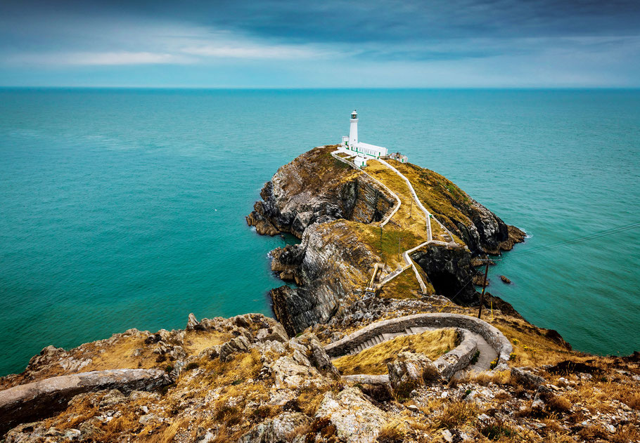 South Stack Lighthouse - Halbinsel Anglesey