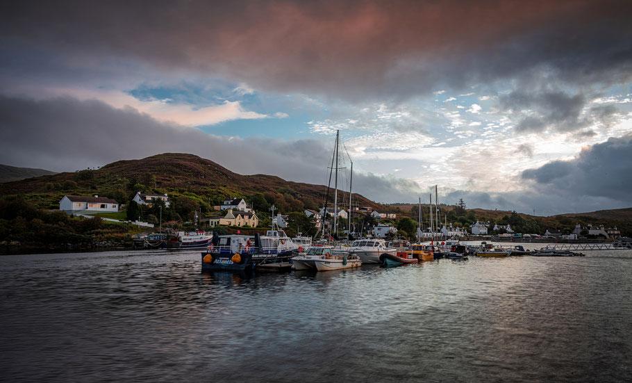 Der Hafen von Kyleakin auf der Isle of Skye
