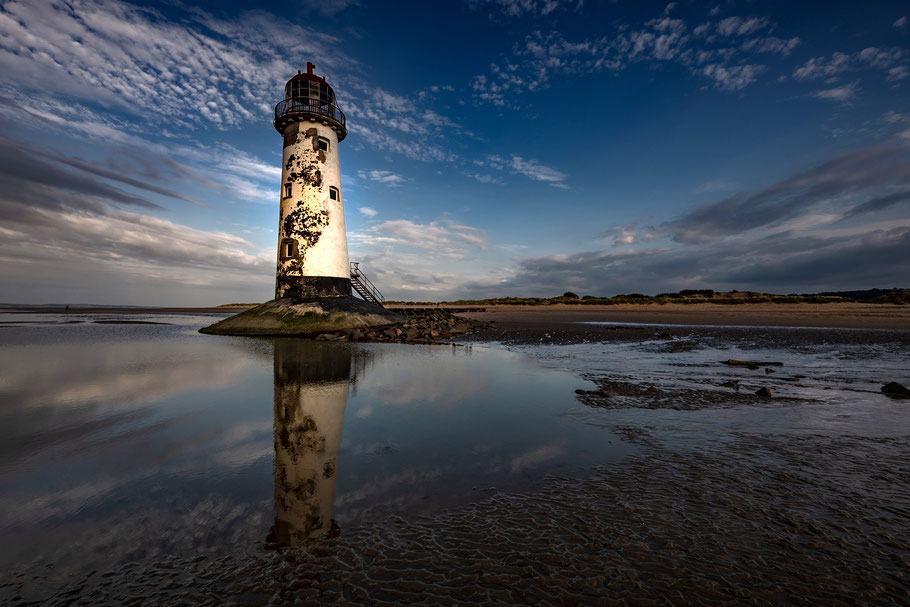 Fotoreise nach Snowdonia und zur Halbinsel Anglesey, Point of Ayr, Talacre Lighthouse