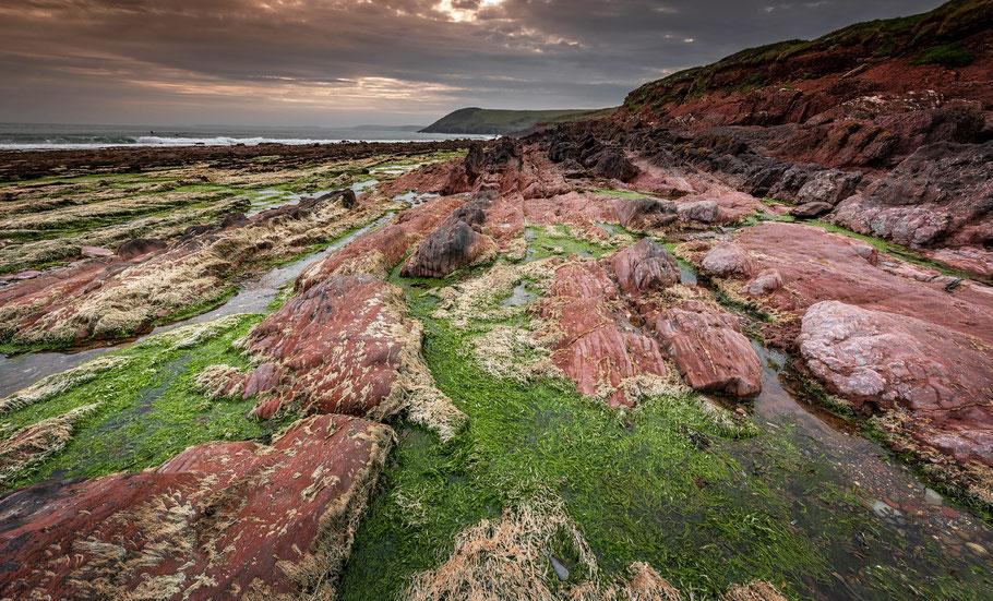 Manorbier Beach, Fotoreise Wales