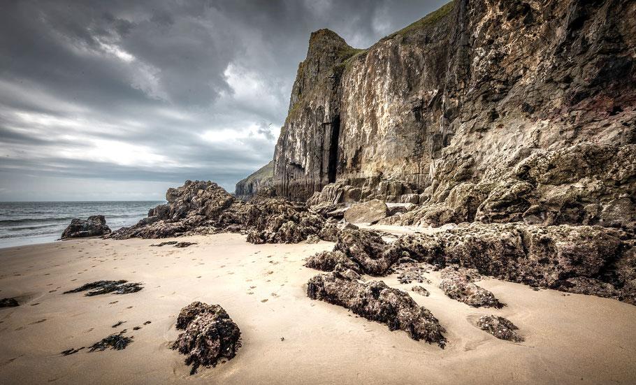 Fotoreise Wales, Skrinkle Haven, Pembroke