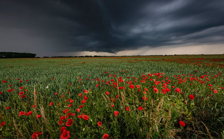 Gewitterstimmung, Landschaftsfotografie mit Sebastian Kaps