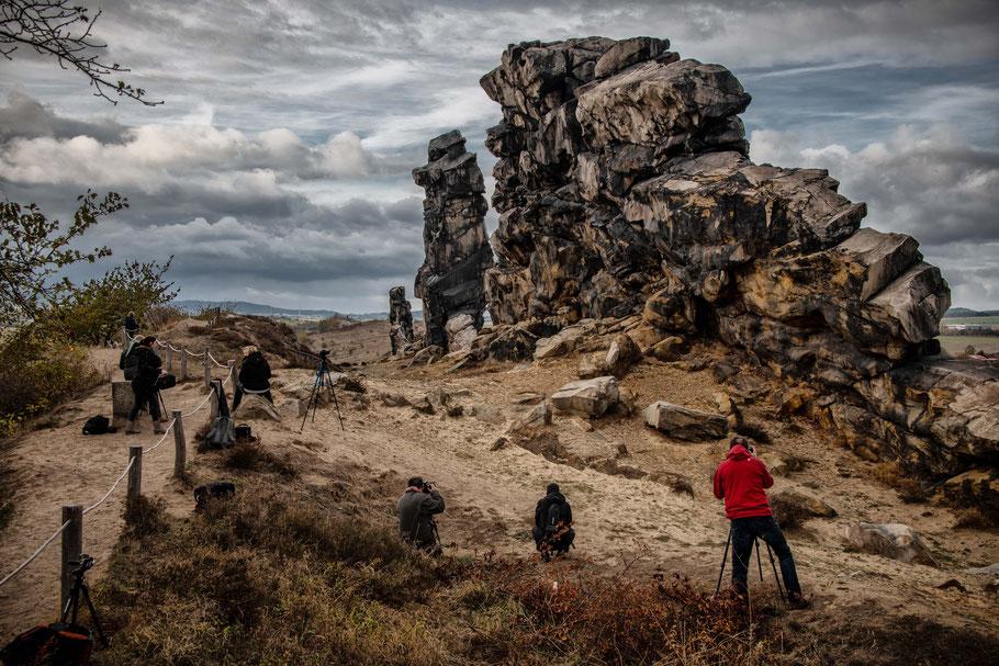 Fotoworkshop für Landschaftsfotografie im Harz, Teufelsmauer, Sebastian Kaps