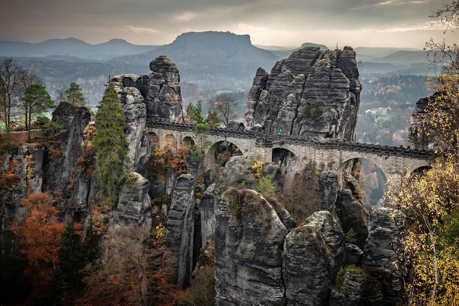 Fotoworkshop Elbsandsteingebirge, Basteibrücke, Sächsische Schweiz