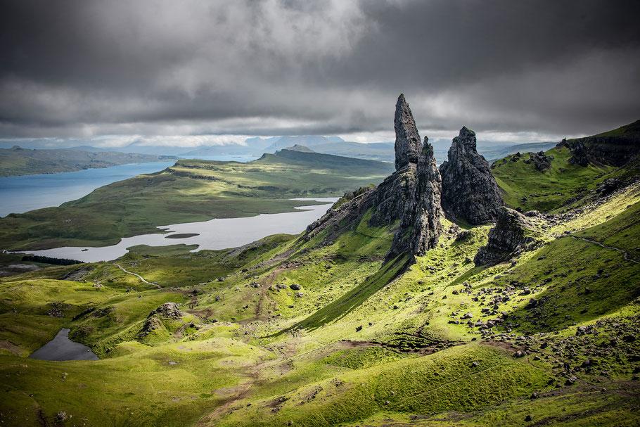 Fotoreise Isle of Skye, Fotoworkshop Isle of Skye, Old Man of Storr, Sebastian Kaps