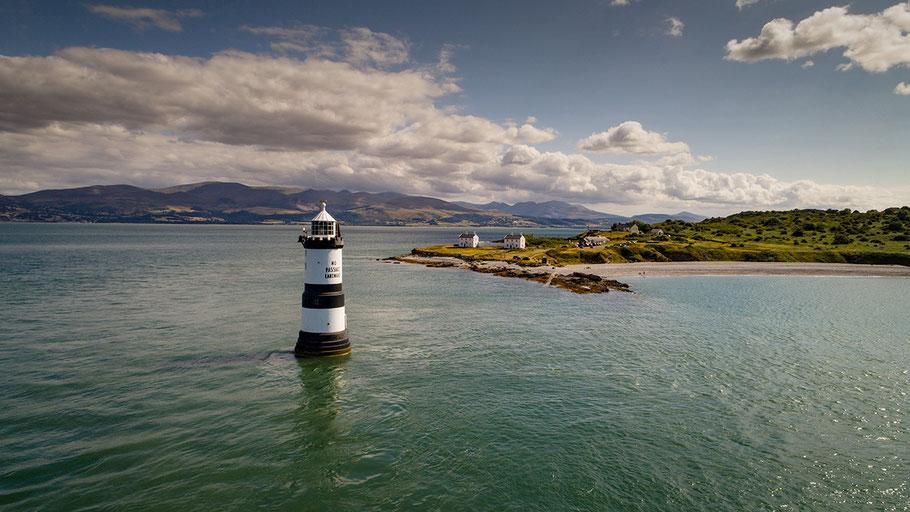 Fotoreise nach Snowdonia und zur Halbinsel Anglesey, Penmon Lighthouse, North Wales