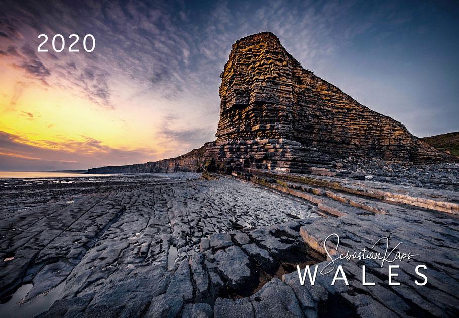 Landschaftskalender Wales 2020, Kalender Wales
