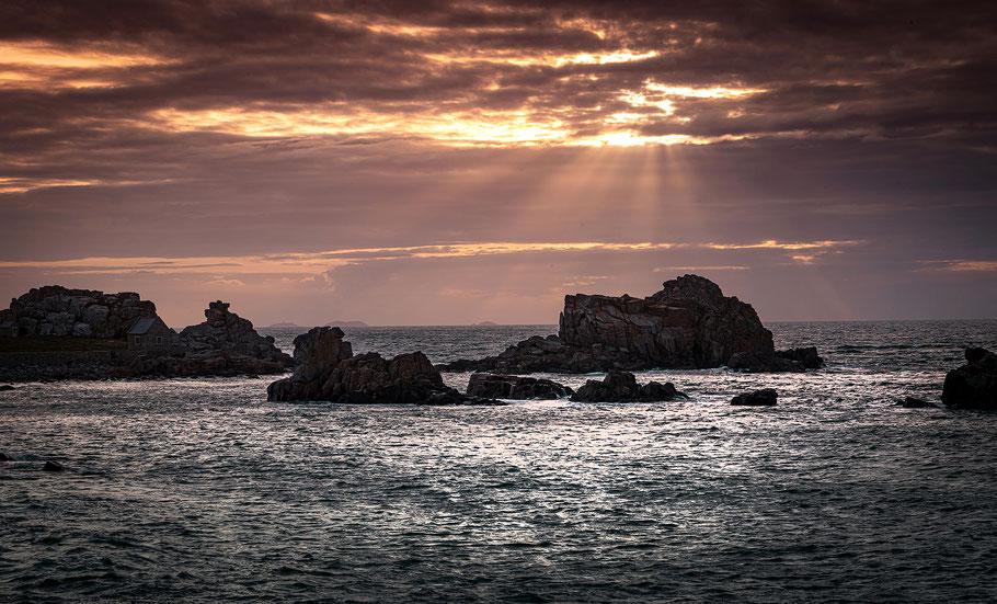 Ersetzt den Psychologen - der Sonnenuntergang am Meer