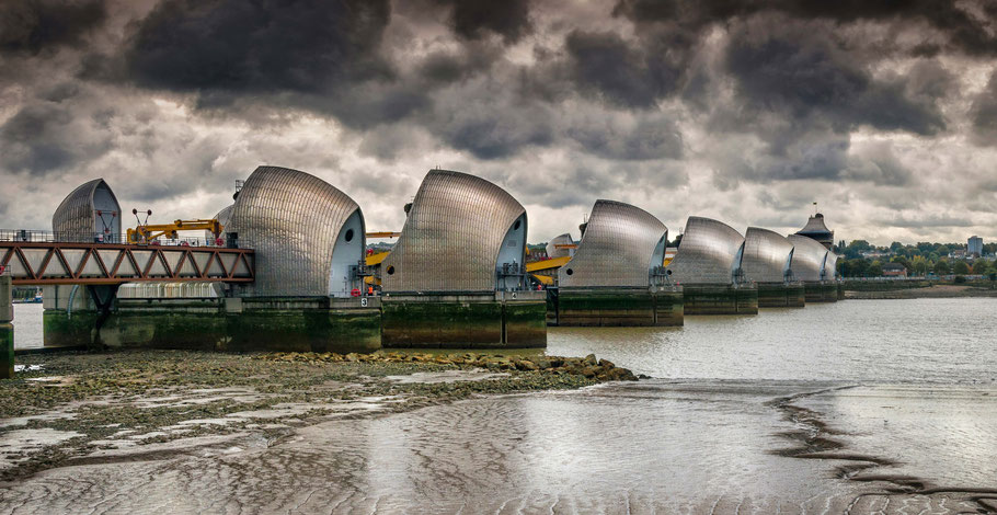 Fotoreise London, Thames Flood Barrier