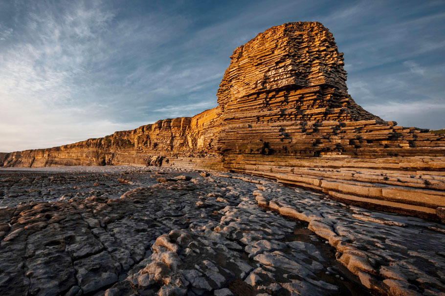 Fotoreise Wales, Nash Point, South Wales,