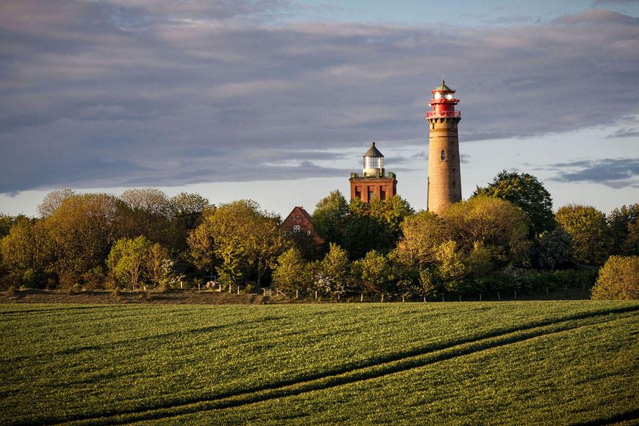 Kap Arkona, Leuchttürme, Insel Rügen