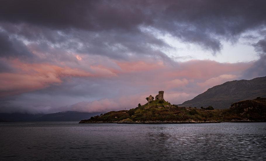 Castle Moil am Loch Alsh