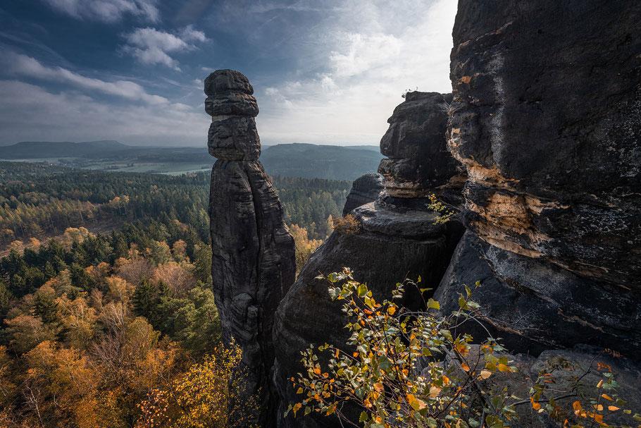 Fotoworkshop Sächsische Schweiz, Barbarine, Pfaffenstein, Elbsandsteingebirge