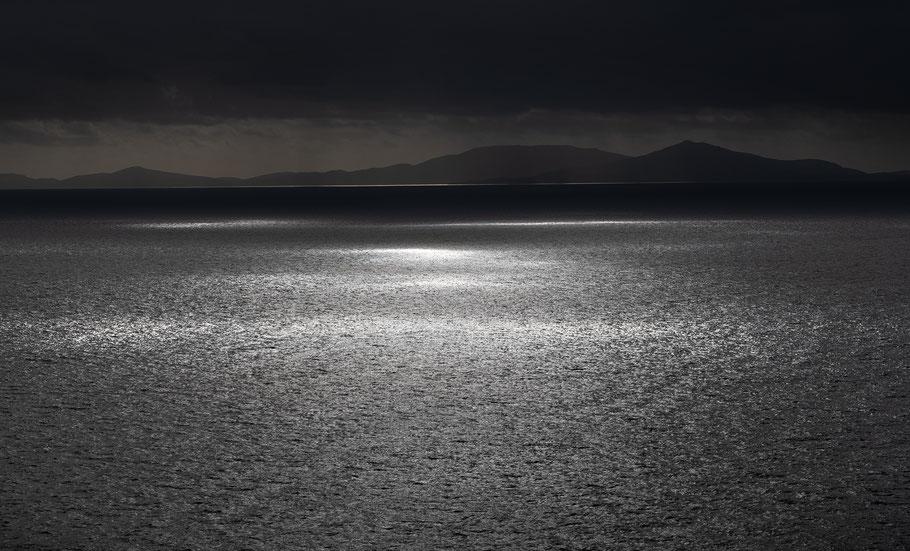 Fotoreise Isle of Skye, Blick auf das Meer bei Regen
