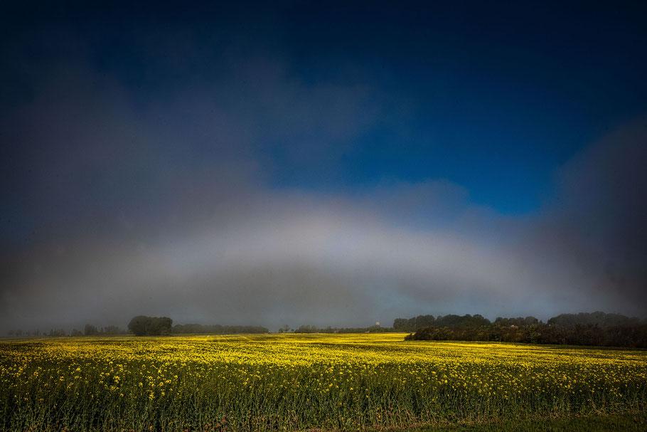 Nebelbogen am Kap Arkona