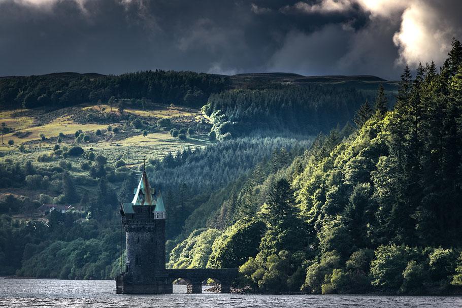 Fotoreise nach Snowdonia und zur Halbinsel Anglesey, Victorian Tower, Powys