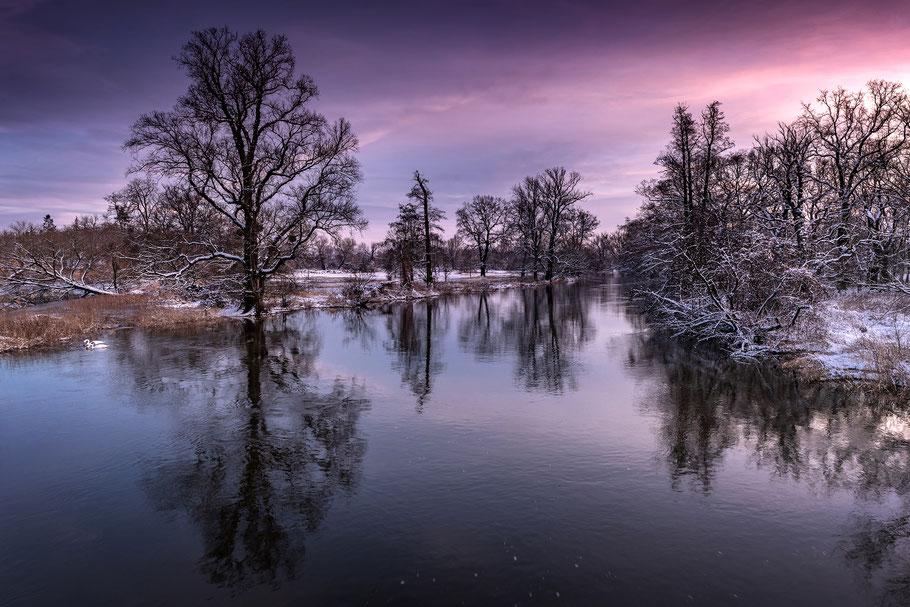 Winteraufnahme, aufgenommen während einer Fotoreise mit Sebastian Kaps