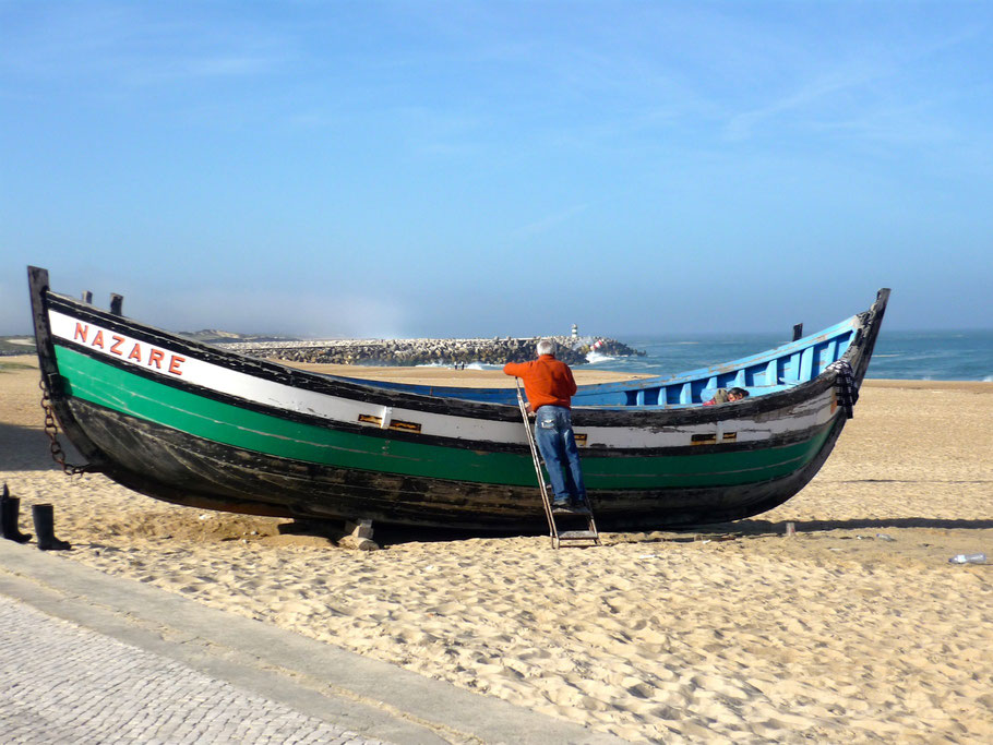 Fischerboot, Nazare
