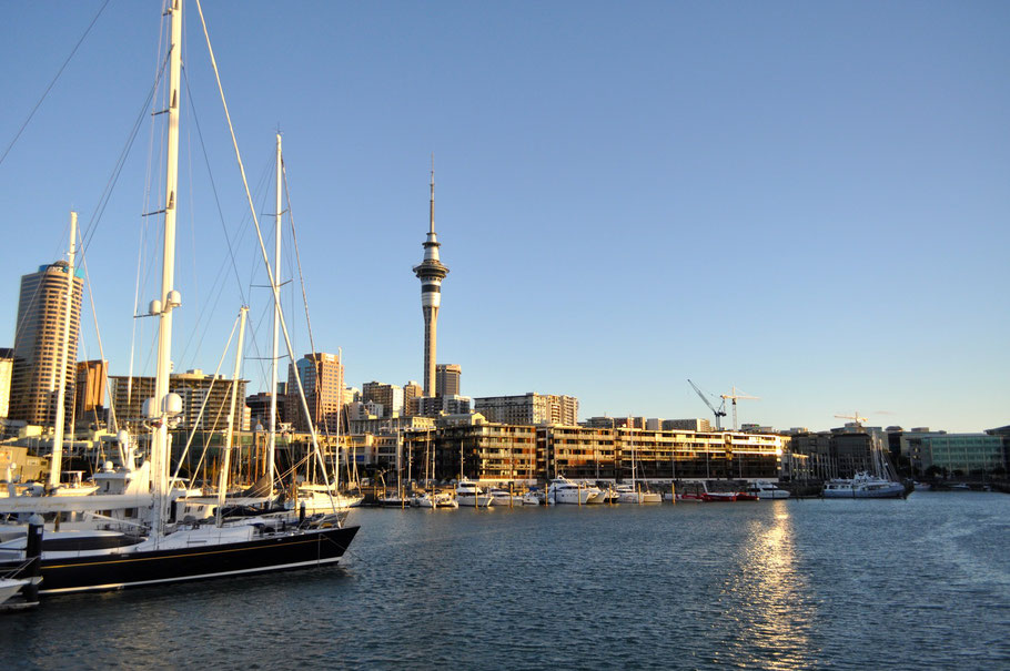 Aucklands Hafengegend