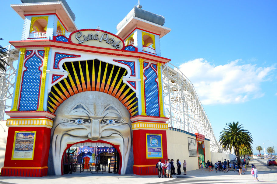 Eingang zum Luna Park