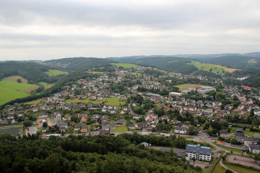 Morsbach von oben