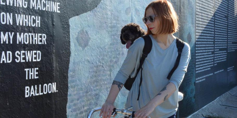 Hundebloggerin Inga Mücke mit Niko