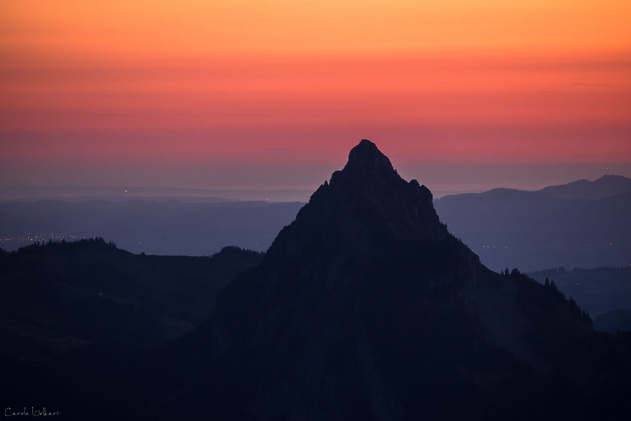 Kleiner Mythen im Morgenrot, Fronalpstock