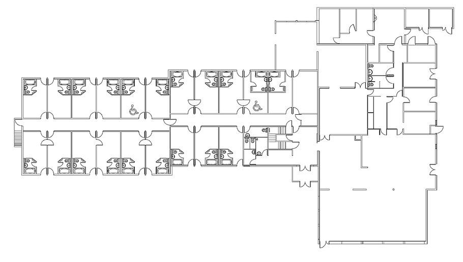 image de plan de cellules d'un restaurant