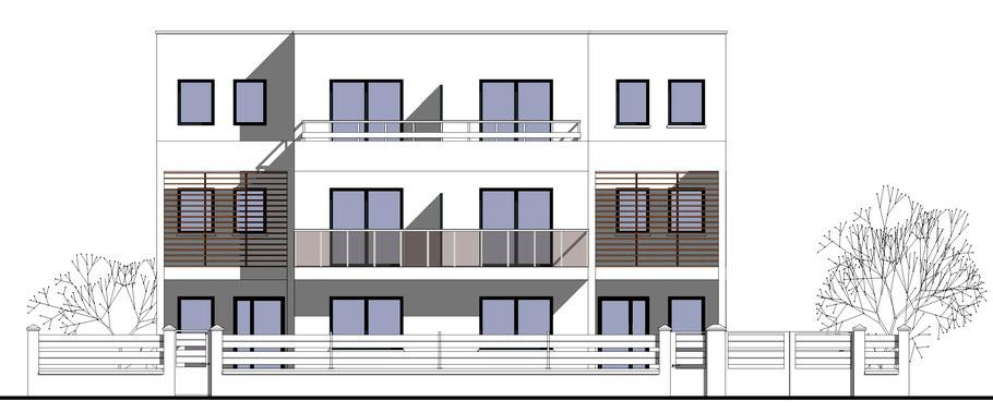élévation de maison d'architecte avec Sketchup pro 2018