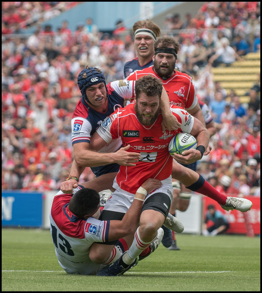 Grant Hattingh scores after a clever bit of build up play – Chris Pfaff Inside Sport: Japan, May 12th, 2018