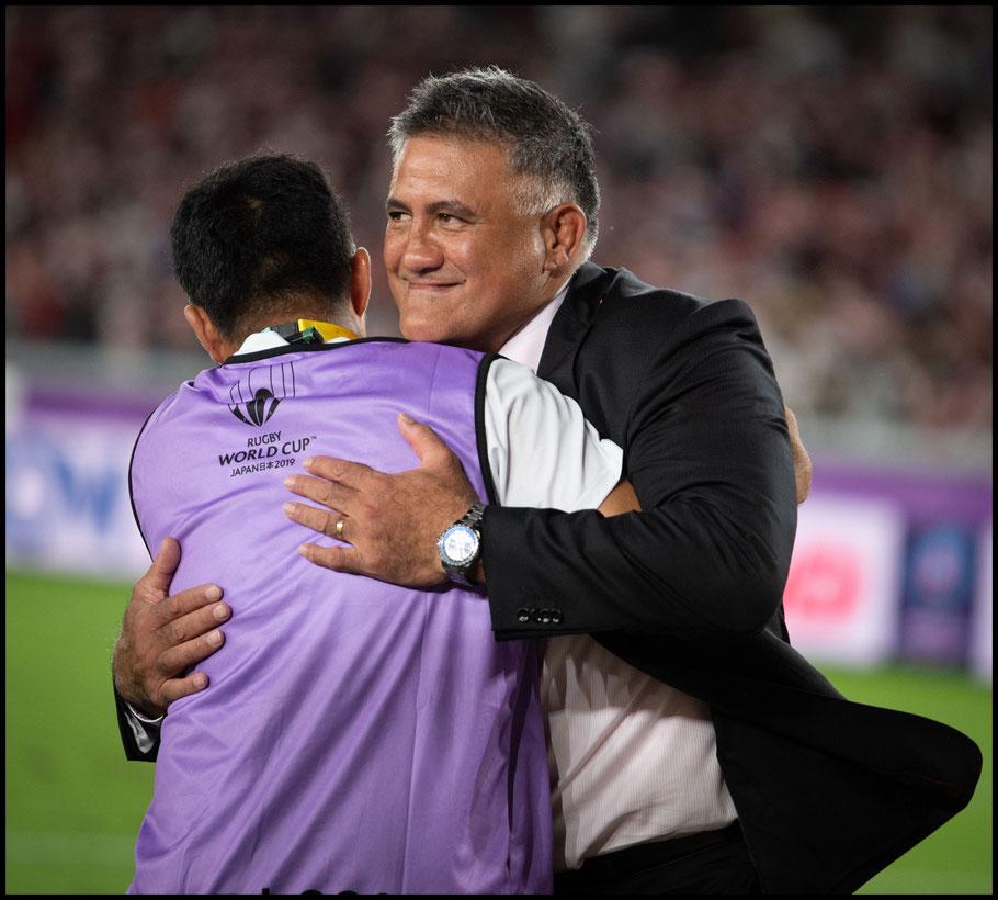 Jamie Joseph celebrates a famous victory – John Gunning Inside Sport: Japan, October 13, 2019