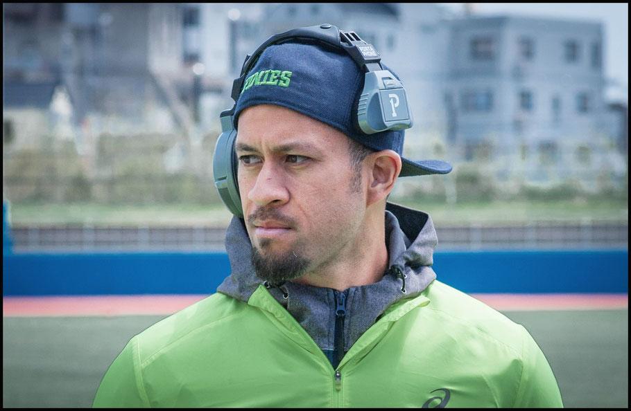 Elecom Kobe Fine coach Inoe Funaki — Lionel Piguet, Inside Sport: Japan, April 7, 2018