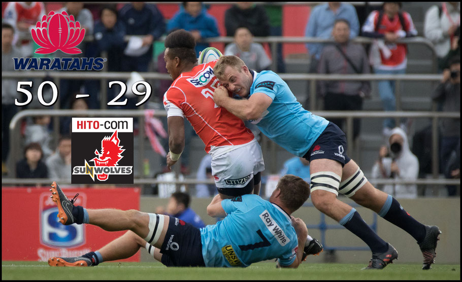 Sunwolves struggled against the powerful Waratahs – Sachiyo Karamatsu Inside Sport: Japan, April 7th, 2018