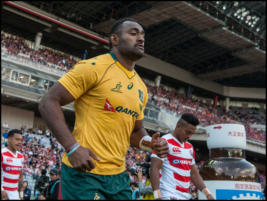 Tevita Kuridrani had a hat trick of tries - Chris Pfaff, Inside Sport: Japan, Nov 4, 2017