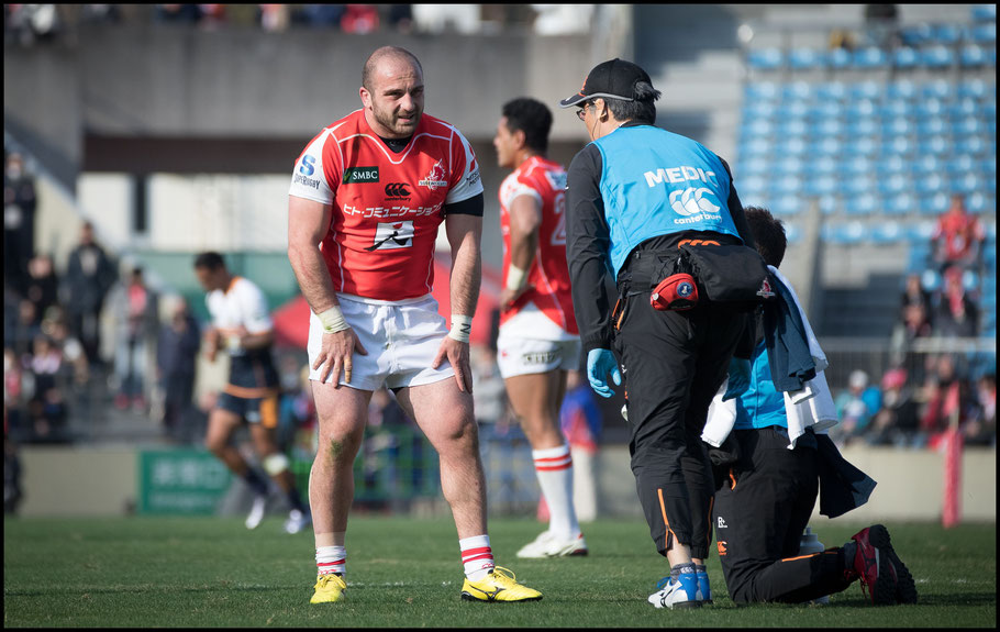 Sunwolves lost six players to injury after their opening round match against Brumbies in 2018