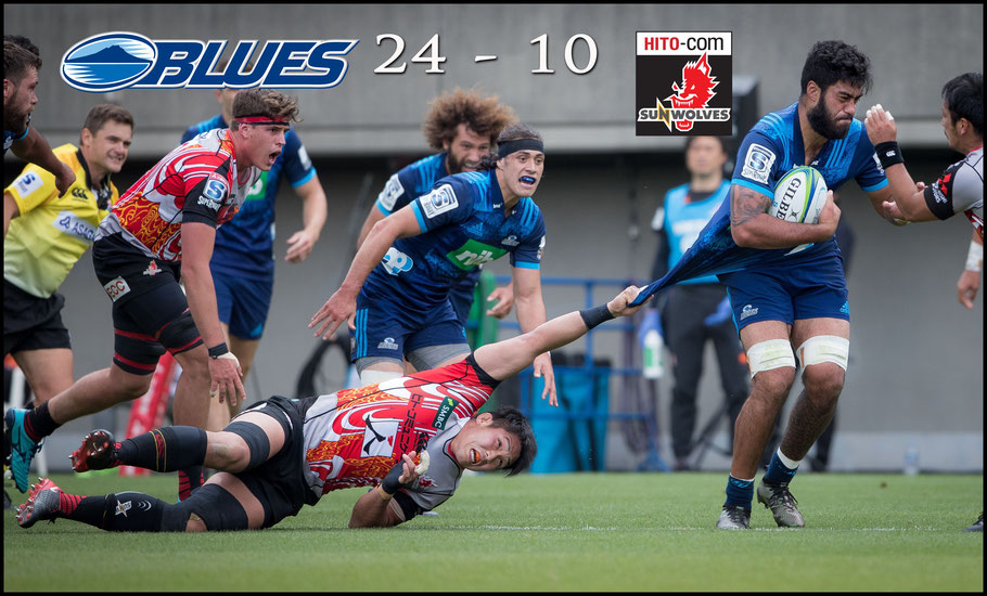 Sunwolves started strong but faded in the second half against the Blues – Sachiyo Karamatsu Inside Sport: Japan, April 14th, 2018