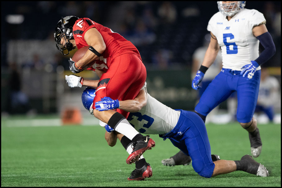 Last year's JXB MVP Clark Nakamura was held to two catches for 15 yards  – Sachiyo Karamatsu, Inside Sport: Japan, Dec 17th, 2018