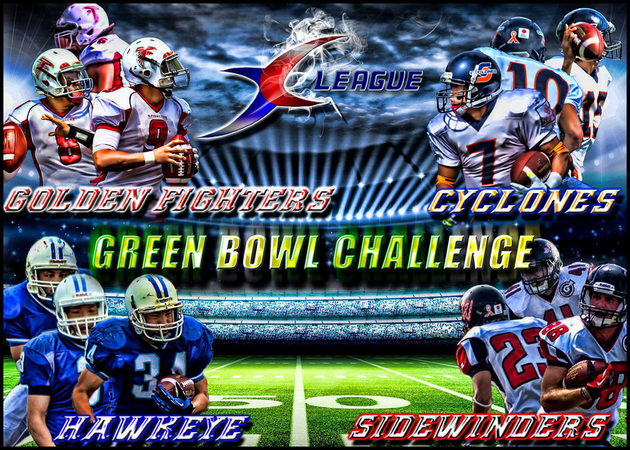 Green Bowl Challenge Teams - Graphic: Carlton Jones