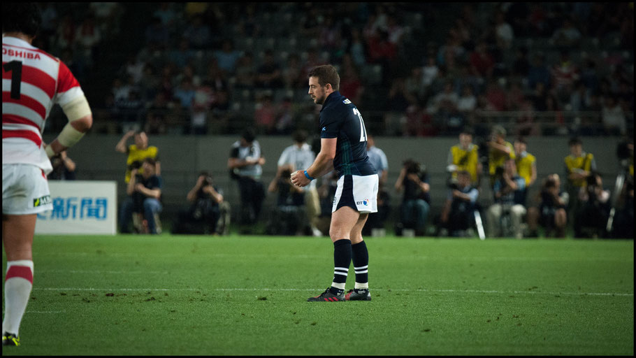 Greig Laidlaw kicked four second half penalties - John Gunning, Inside Sport: Japan, June 25, 2016