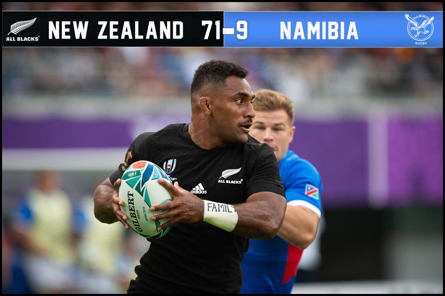 The All Blacks turned on the afterburners in the second half – John Gunning, Inside Sport: Japan, Oct 6, 2019
