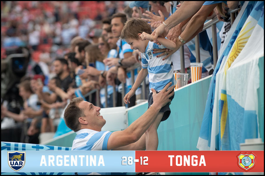 Argentina players have spent time with family and friends after each game – Lionel Piguet Inside Sport: Japan, Sept 28, 2019