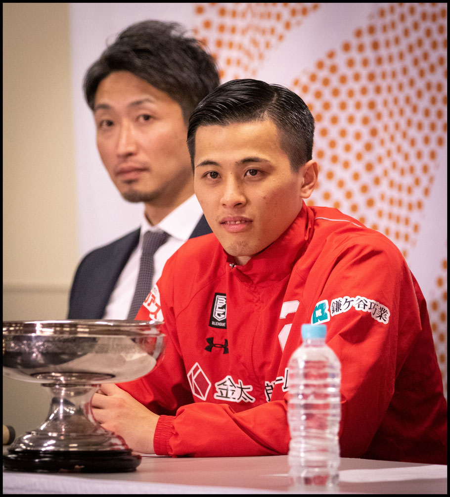 Togashi's at the post game press conference– Sachiyo Karamatsu, Inside Sport: Japan, Jan 13th, 2019
