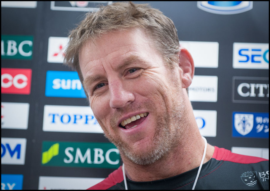 Reds' Coach Brad Thorn – Chris Pfaff Inside Sport: Japan, May 11th, 2018