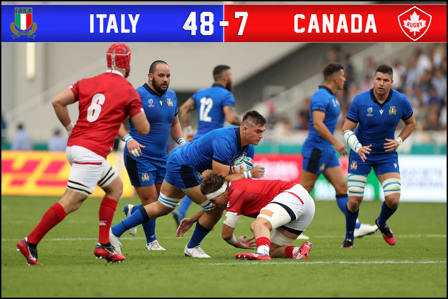 Italy had little trouble dispatching Canada - David Ramos (World Rugby via Getty)