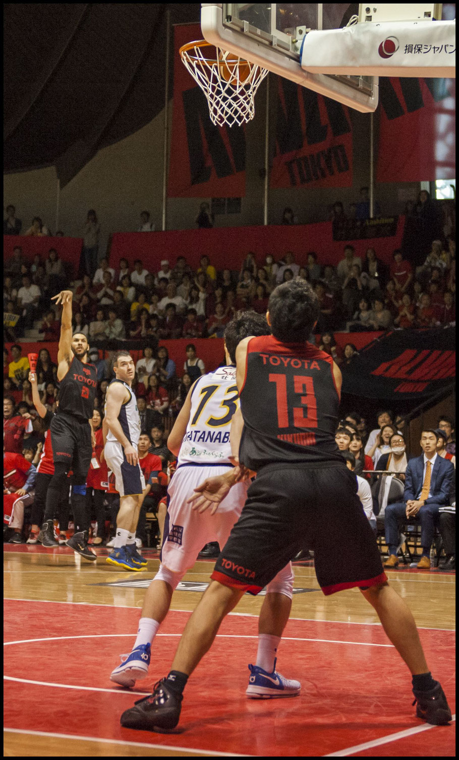 Brex secured the win when this Jeff Ayres 3-point attempt fell short.  — Chris Pfaff, Inside Sport: Japan, May 3, 2017