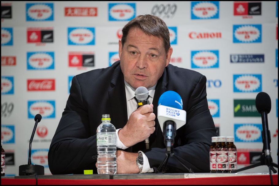 All Blacks Head Coach Steve Hansen - Sachiyo Karamatsu, Inside Sport: Japan, Nov 3, 2018