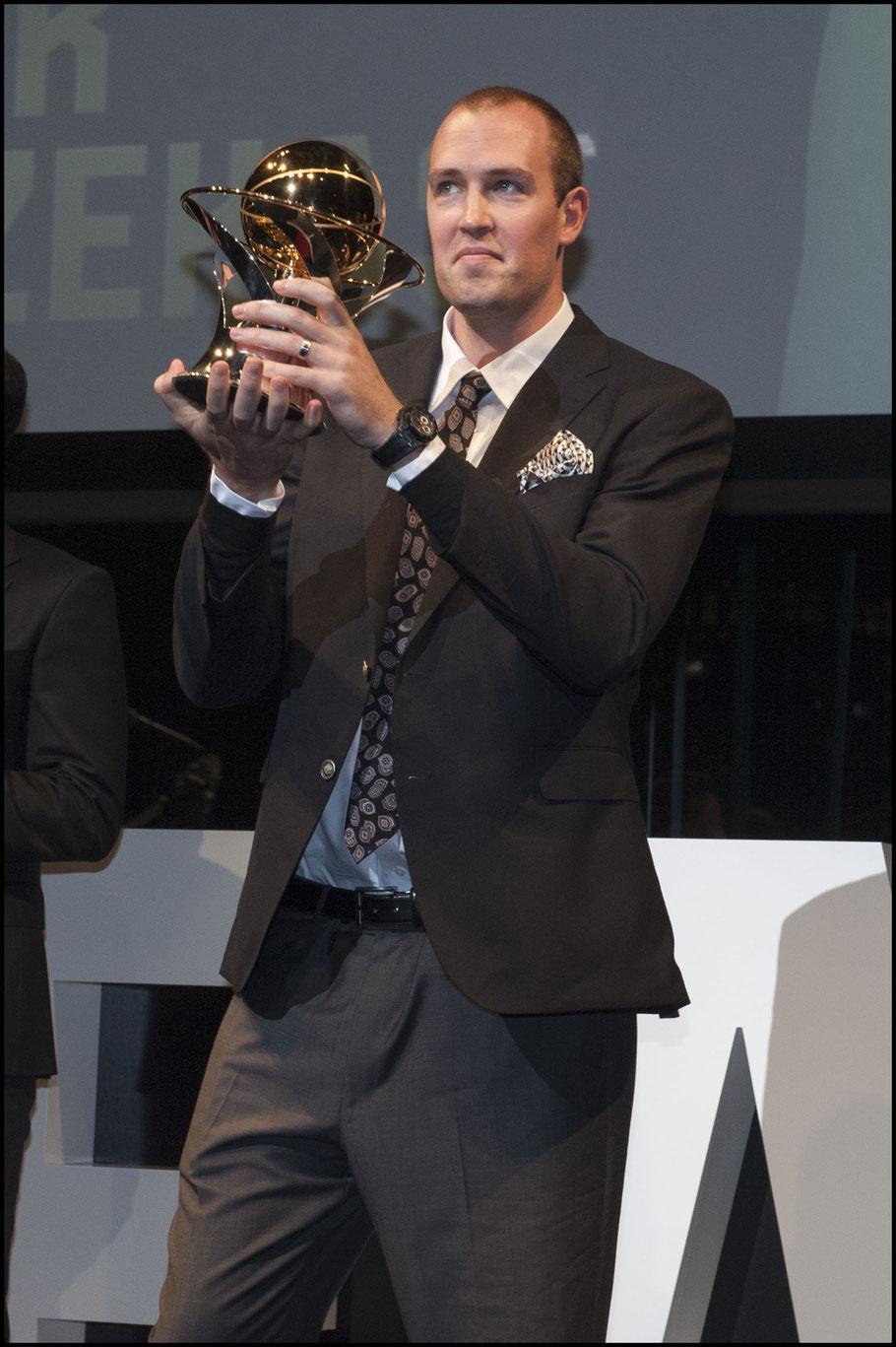 Nick Fazekas took home the MVP award - Chris Pfaff, Inside Sport: Japan, May 30, 2017