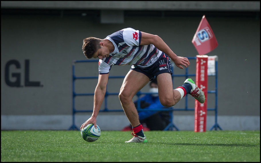 Jack Maddocks scored a hat-trick of tries – John Gunning, Inside Sport: Japan, Mar 3rd, 2018
